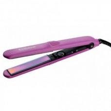 GAMMA PIU 118 RAINBOW ANTISTATIC - Щипцы-выпрямители для волос Радужный Антистатик РОЗОВЫЕ 26 х 110мм
