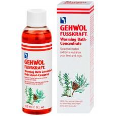 GEHWOL Fusskraft Warming Bath Concentrate - Согревающая ванна для ног 150мл