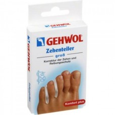 GEHWOL Zehenteiler gros - Гель-корректоры между пальцев БОЛЬШИЕ 3шт
