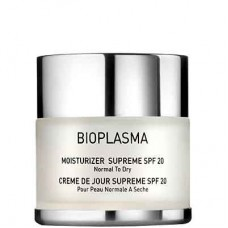 GIGI BIOPLASMA Moisturizer Supreme SPF20 - Увлажняющий крем для нормальной и сухой кожи СЗФ 20, 50мл