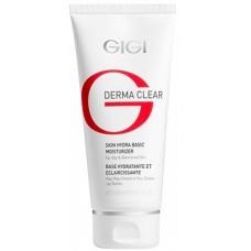 GIGI DERMA CLEAR Skin Hydra basic moisturiser - Увлажняющий базовый крем для проблемной кожи 100мл