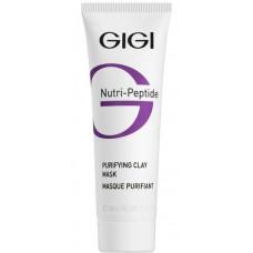 GIGI NUTRI-PEPTIDE Purifying Clay Mask - Пептидная очищающая глиняная маска для жирной кожи 50мл