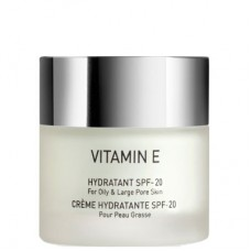 GIGI VITAMIN E Hydratant SPF20 for oily skin - Увлажняющий крем для жирной и комбинированной кожи СЗФ 20, 50мл
