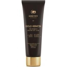 GREYMY GOLD KERATIN TREATMENT CREAM DE LUXE - Кератин Крем для восстановления и выпрямления волос 100мл