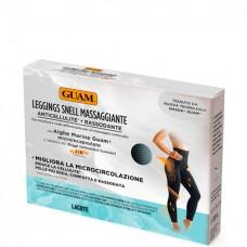 GUAM LEGGINGS Snell Massaggiante XS/S (38-40) - Леггинсы с массажным эффектом GUAM, XS/S (38-40), 1шт