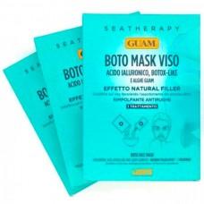 """GUAM SEATHERAPY BOTO MASK VISO - Маска для лица """"Ботокс эффект"""" с гиалуроновой кислотой и водорослями 3 х 20гр"""