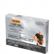 GUAM T-Shirt Snell S/M (46-48) - Футболка для мужчин с моделирующим эффектом GUAM, S/M (46-48), 1шт