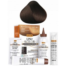 GUAM UPKer KOLOR - Краска для волос без аммиака 4.3 Каштановый золотистый 5 компанентов