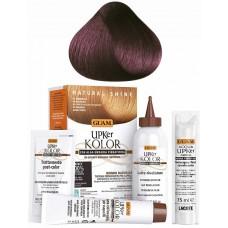 GUAM UPKer KOLOR - Краска для волос без аммиака 5.77 Светло-каштановый фиолетовый интенсивный 5 компанентов