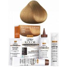 GUAM UPKer KOLOR - Краска для волос без аммиака 8.0 Светлый блонд интенсивный 5 компанентов