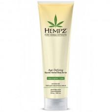 HEMPZ Scrub Body Age Defying Glycolic Herbal - Скраб для Тела Антивозрастной 265мл