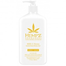 HEMPZ HERBAL Body Moisturizer Milk & Honey - Молочко для тела увлажняющее Молоко и Мёд 500мл
