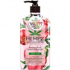 HEMPZ HERBAL Body Moisturizer Pomegranate - Молочко увлажняющее для тела с Гранатом 500мл