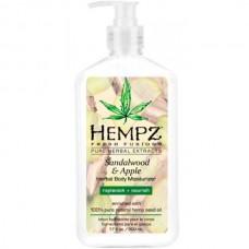 HEMPZ HERBAL Body Moisturizer Sandalwood & Apple - Молочко для тела Увлажняющее Сандал и Яблоко 500мл