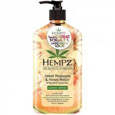 HEMPZ HERBAL Body Moisturizer Sweet Pineapple & Honey Melon - Молочко увлажняющее для тела Сладкий Ананас и Медовая Дыня 500мл