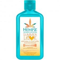 HEMPZ HERBAL Body Moisturizer Wildflowers & Coconut Water - Молочко для тела Полевые цветы и Кокосовая вода 177мл