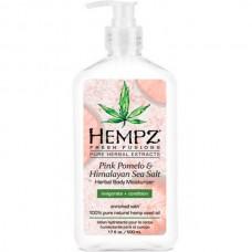 HEMPZ HERBAL Body Pink Moisturizer Pomelo & Himalayan Sea Salt Herbal Body - Молочко для тела увлажняющее Помело и Гималайская соль 500мл
