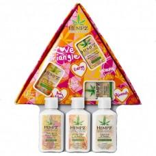 HEMPZ HERBAL Love Triangle Set - Набор мини «Любовный треугольник» Молочко для тела 3 х 66мл