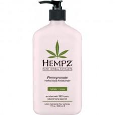 HEMPZ HERBAL Body Moisturizer Pomegranate Herbal Body - Хемпз Молочко для Тела Увлажняющее с Гранатом 500мл