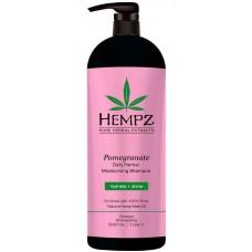 HEMPZ PURE HERBAL Moisturizing Pomegranate Shampoo - Шампунь Увлажняющий Гранат 1000мл