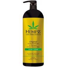 HEMPZ PURE HERBAL Original Conditioner For Damaged Color Treated Hair - Кондиционер Оригинальный для Поврежденных Окрашенных Волос 1000мл