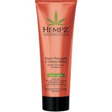 HEMPZ PURE HERBAL Sweet Pineapple & Honey Melon Volumizing Conditioner - Кондиционер растительный Ананас и Медовая Дыня для придания объёма 265мл