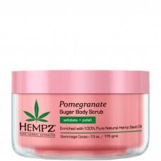 HEMPZ Body Scrub Sugar & Pomegranate - Скраб для Тела Сахар и Гранат 176гр