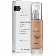 Holy Land AGE DEFENSE CC Cream Medium SPF50 - Корректирующий крем, натуральный оттенок 50мл