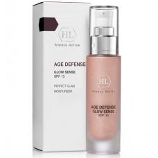 Holy Land AGE DEFENSE GLOW SENCE SPF15 - Увлажняющий крем с декоративным эффектом 50мл