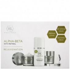 Holy Land ALPHA-BETA with Retinol Kit - Набор для восстановления текстуры и цвета кожи 125 + 50 + 50мл