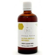 Holy Land Alpha-Beta & Retinol Deep Clean Peel - Увлажняющий пилинг для всех типов кожи 100мл