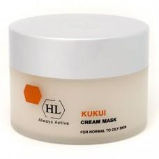 Holy Land Kukui Cream Mask For Oily Skin - Сокращающая маска для жирной кожи 250мл