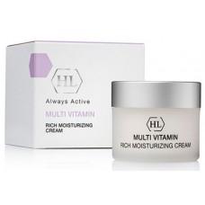 Holy Land MULTI VITAMIN Rich Moisturizing Cream - Увлажняющий крем с комплексом витаминов 50мл