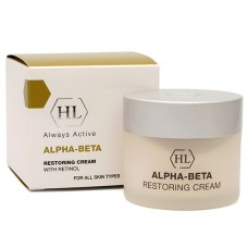 Holy Land ALPHA-BETA with Retinol Restoring Cream - Холи Ленд Восстанавливающий Крем 50мл