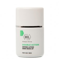Holy Land DOUBLE ACTION Drying Lotion + Make Up - Холи Ленд Подсушивающий Лосьон с Тоном 30мл