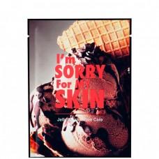 I'm Sorry For My Skin Jelly mask-pore care - Маска для лица тканево-гелевая для сужения пор 33мл