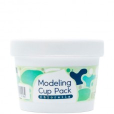 INOFACE Modeling Cup Pack Chlorella - Очищающая альгинатная маска для проблемной кожи с ХЛОРЕЛЛОЙ 18гр