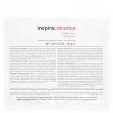 inspira:cosmetics inspira:absolue Double Action SUPER PEEL - Энзимный скраб 2-в-1, 10 х 30гр