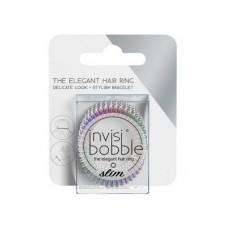 Invisibobble SLIM Vanity Fairy - Резинка-браслет для волос с подвесом, цвет Радужный 3шт