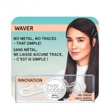 invisibobble WAVER Crystal Clear ONE - Заколка для волос с подвесом 1шт