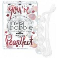 invisibobble WAVER You're Pearlfect - Заколка для волос Белый перламутр 3шт
