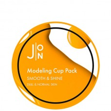 J:ON Modeling Cup Pack SMOOTH & SHINE - Маска альгинатная ГЛАДКОСТЬ и СИЯНИЕ 18гр