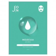 J:ON MOLECULA SNAIL Daily Essence Mask - Маска для лица тканевая со МУЦИНОМ УЛИТКИ 23мл