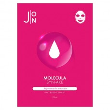 J:ON MOLECULA SYN-AKE Daily Essence Mask - Маска для лица тканевая со ЗМЕИНЫМ ПЕПТИДОМ 23мл