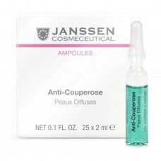 JANSSEN Cosmetics Ampoules Аnti-Couperose - Янссен Ампулы Антикупероз 7 х 2мл