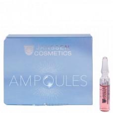 JANSSEN Cosmetics Ampoules Eye Flash Fluid - Увлажняющая и восстанавливающая сыворотка в ампулах для контура глаз 3 х 2мл