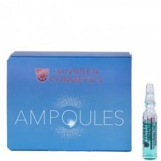 JANSSEN Cosmetics Ampoules Hyaluron Fluid - Янссен Ультраувлажняющая Сыворотка с Гиалуроновой Кислотой 7 х 2мл