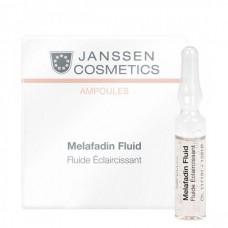 JANSSEN Cosmetics Ampoules Мela-Fadin (skin lightening) - Янссен Осветляющие Ампулы 7 х 2мл