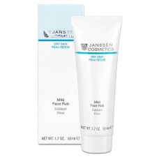 JANSSEN Cosmetics DRY SKIN Mild Face Rub - Мягкий скраб с гранулами жожоба для всех типов кожи 50мл