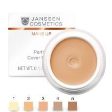 JANSSEN Cosmetics MAKE UP 05 Perfect Cover Cream - Тональный крем-камуфляж ТОН 5. 5мл
